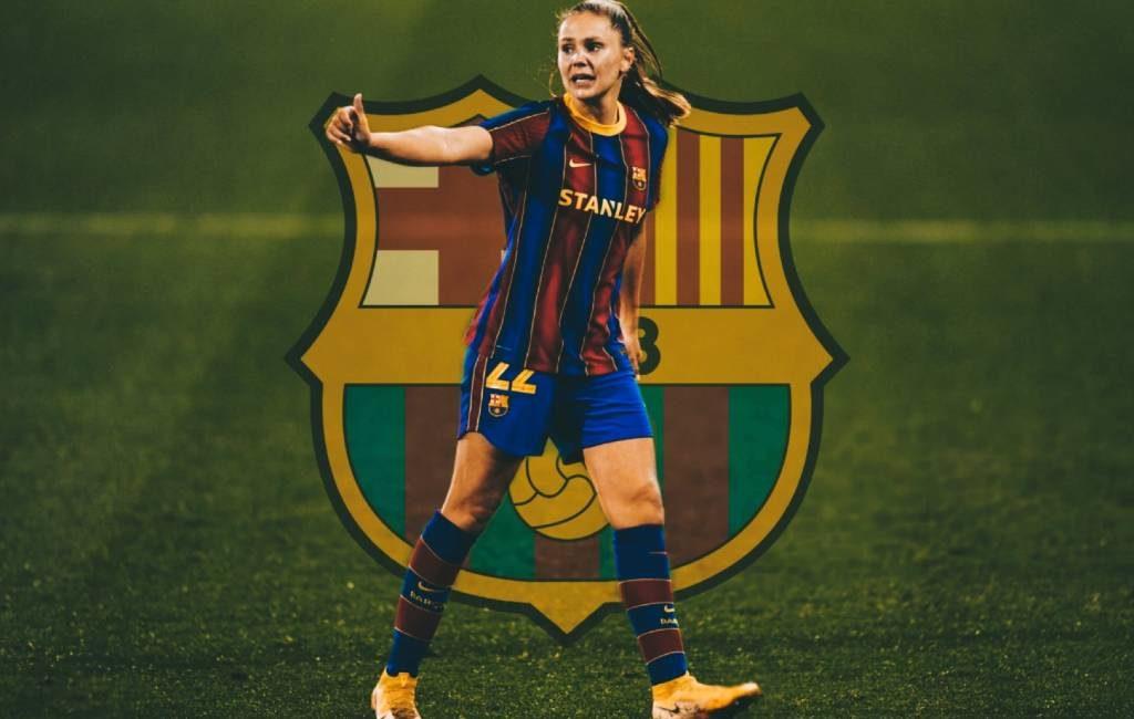 Nederlandse Lieke Martens schiet FC Barcelona naar finale UEFA Women's Champions League
