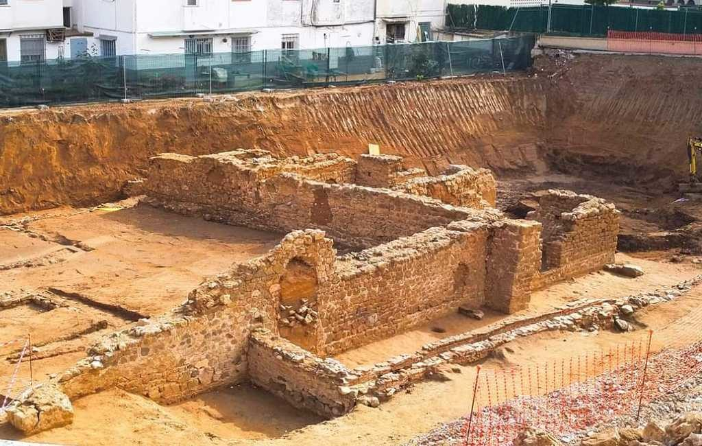 Romeinse ruïne gevonden bij bouw Aldi supermarkt in Calella