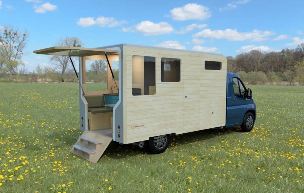 Nieuw Nederlands ontwerp is de perfecte kampeerauto/tiny-house combinatie