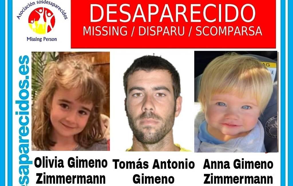 Waar zijn de verdwenen meisjes Anna (1) en Olivia (6) en hun vader op Tenerife?
