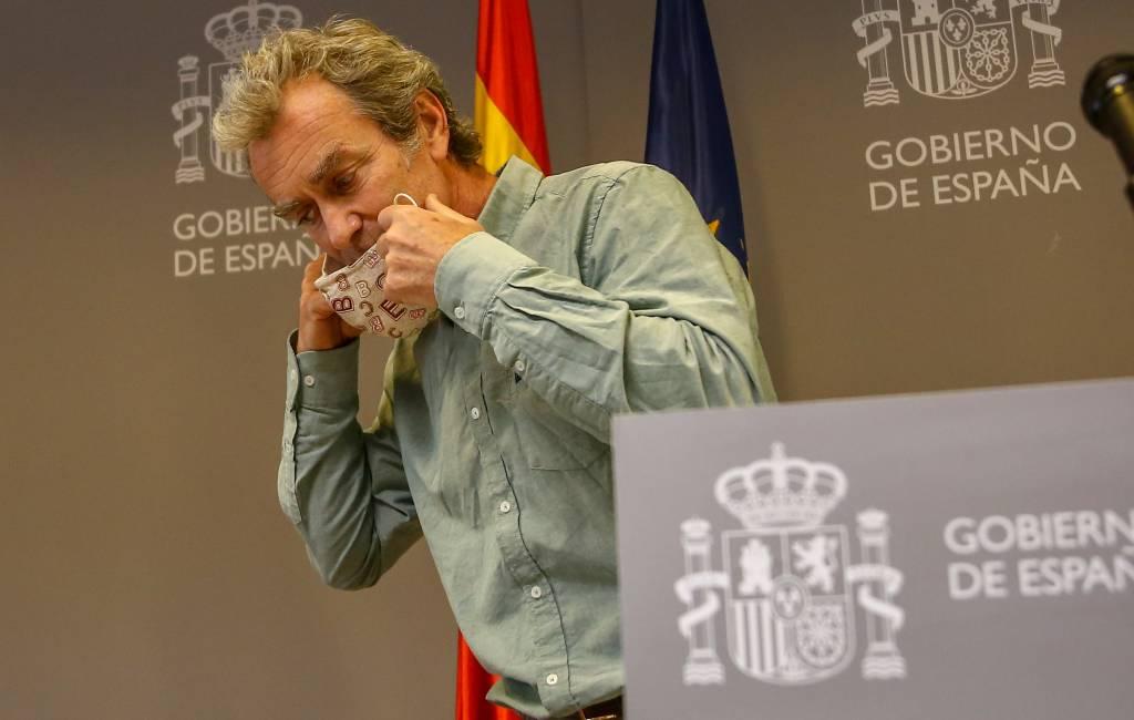 Stevent Spanje af op een leven zonder mondkapjesplicht voor een groep inwoners?