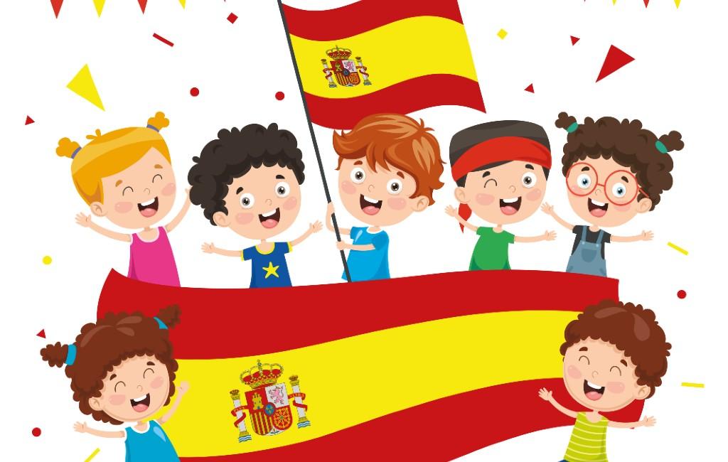 Kinderen in Murcia gaan elke dag de schooldag beginnen met het Spaanse volkslied
