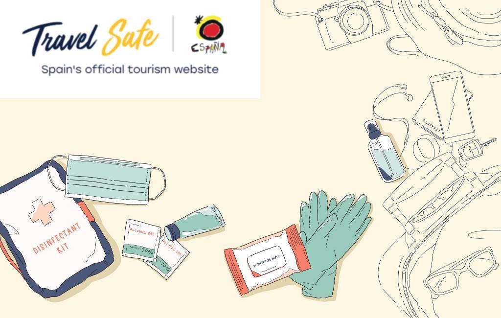 De website Travelsafe met alle nuttige en actuele corona-regels in Spanje en per regio
