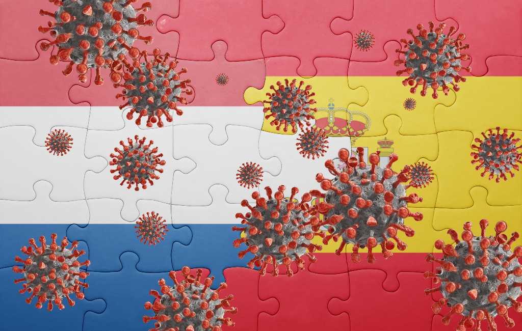 Vakantiegangers uit Spanje besmet teruggekeerd naar Nederland volgens het RIVM