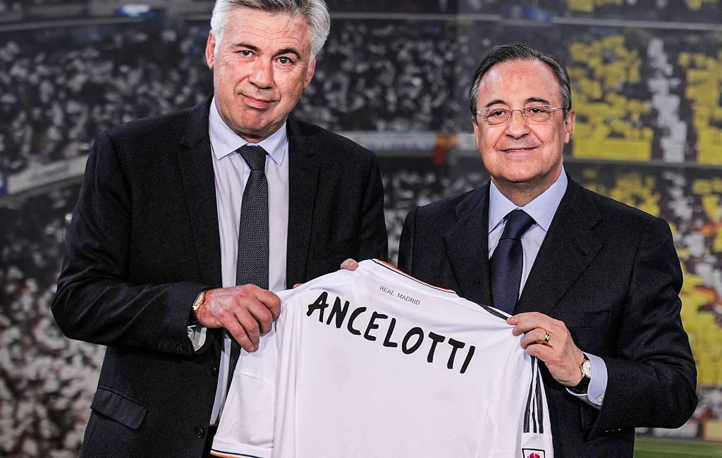 Italiaan Carlo Ancelotti keert terug als hoofdtrainer bij Real Madrid
