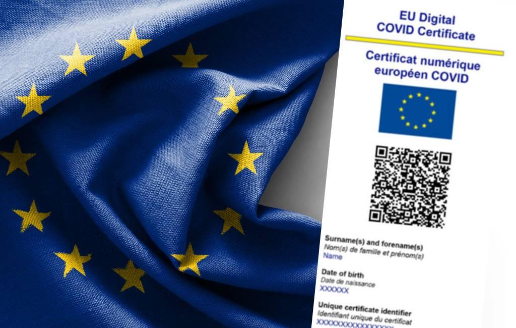 Reizen vanaf 1 juli met het digitale EU-Covid certifcaat: informatie over Spanje, Nederland en België