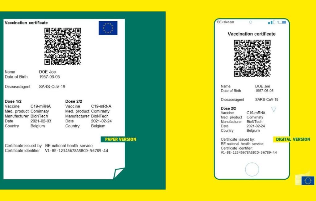 Het EU Digitale Covid-certificaat is in diverse Spaanse regio's al te krijgen