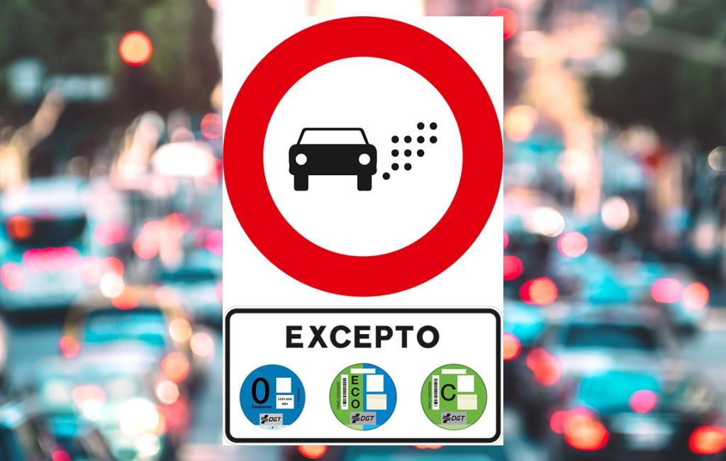 Spanje krijgt een nieuw verkeersbord om lage-emissiezones te identificeren