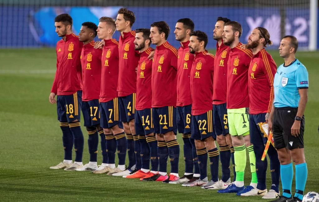 Spaanse nationale voetbalselectie wordt gevaccineerd tegen corona