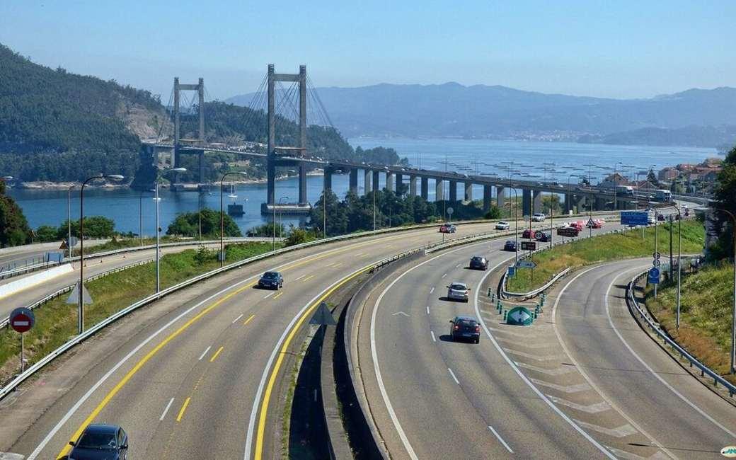 Spaanse regering presenteert tolkortingen op de AP-9 snelweg in Galicië