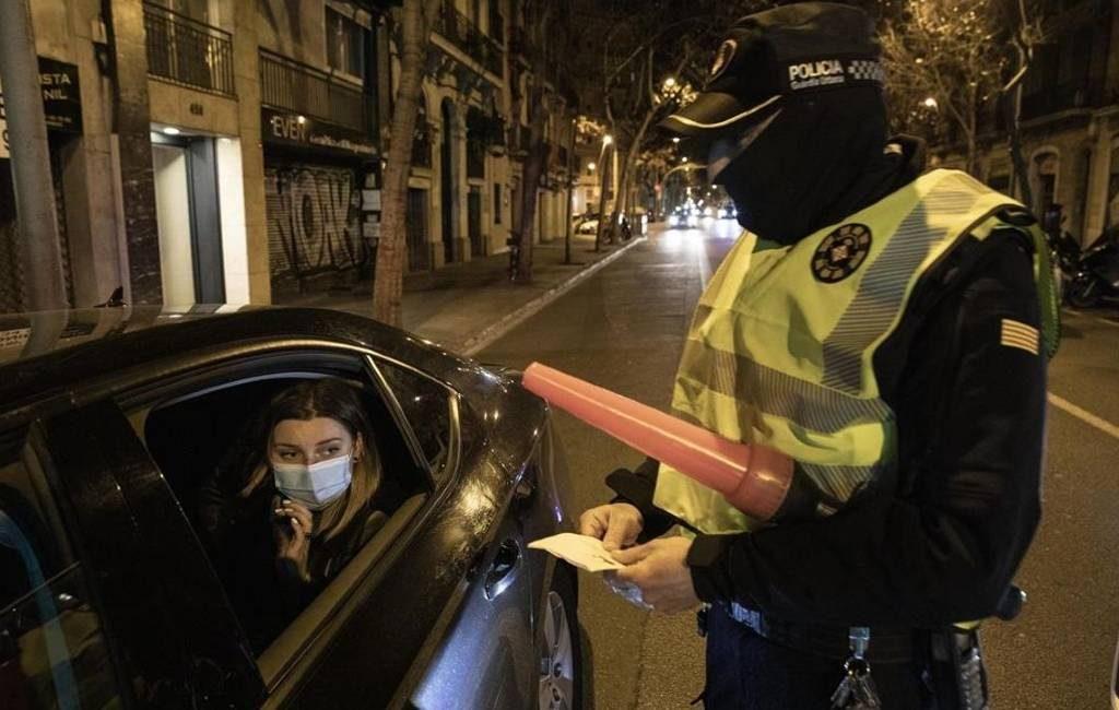 Avondklok in Catalonië is met 7 dagen verlengd en is uitgebreid naar 165 gemeenten