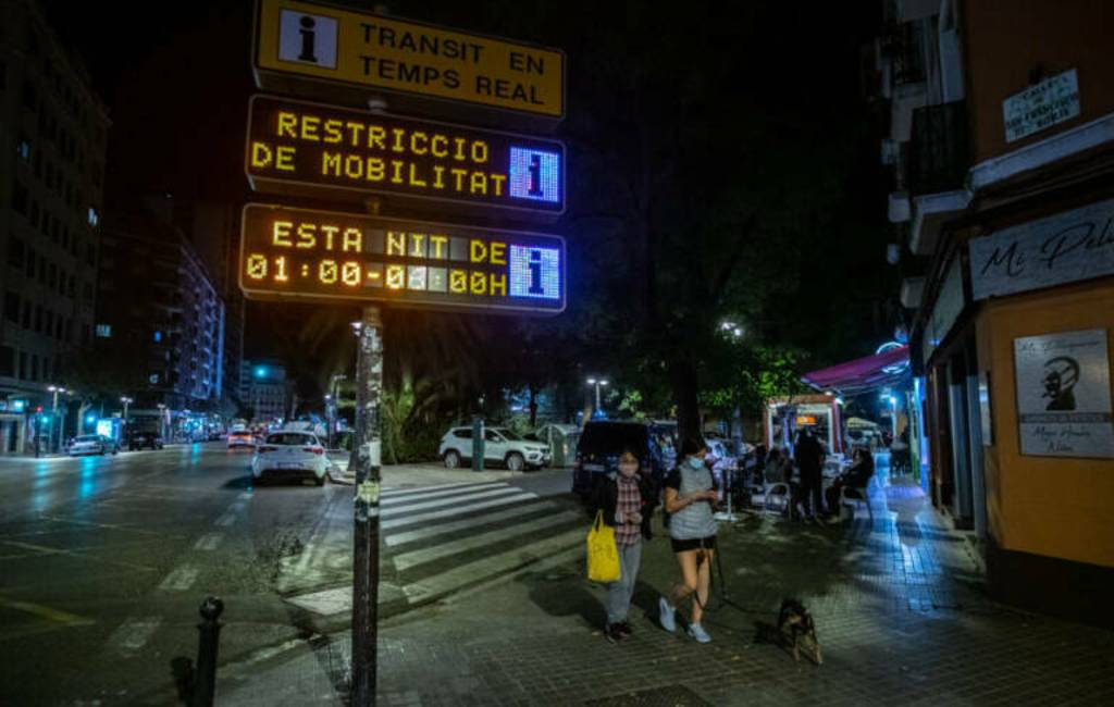 32 gemeenten in de Valencia regio krijgen opnieuw een avondklok