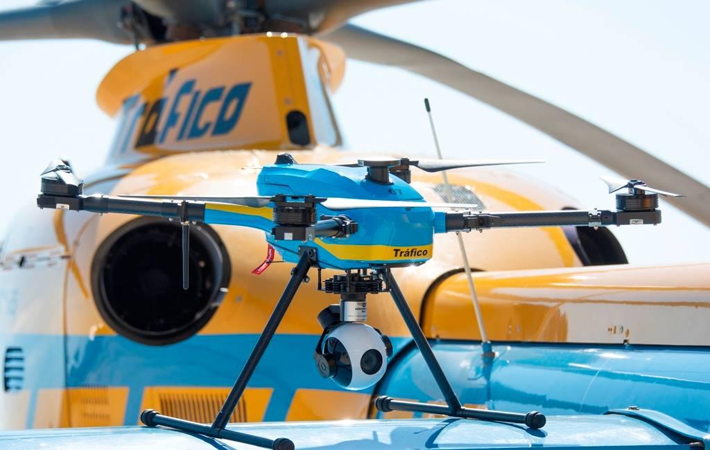 De verkeerspolitie van de toekomst: Spanje zet drones in bij controle snelwegen