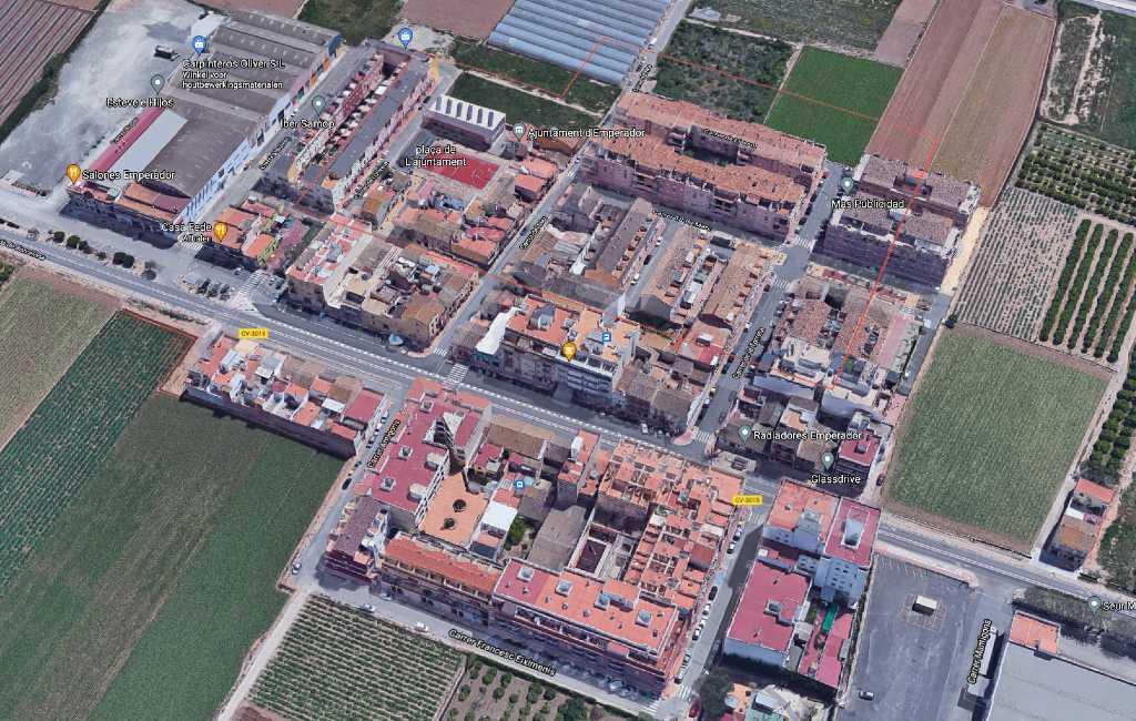 Het kleinste dorp in omvang van Spanje is te vinden de provincie Valencia