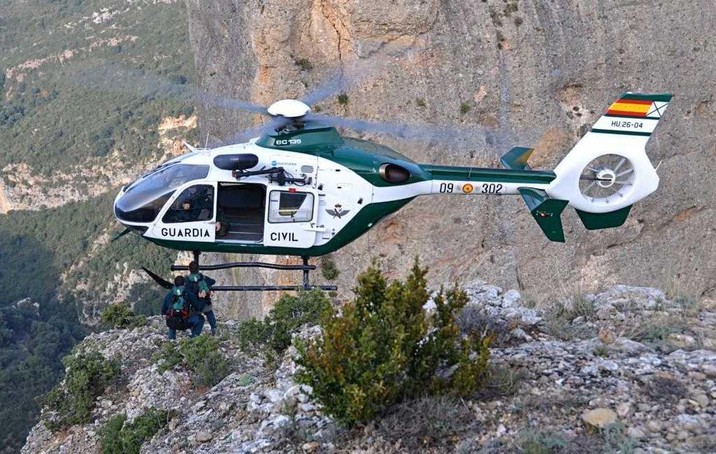 Guardia Civil voerde in een maand tijd al 78 reddingsacties uit in Aragón