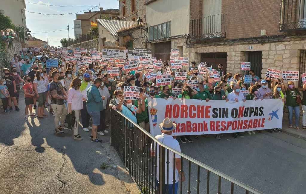 Horche: de opstand van een dorp in Castilla-La Mancha tegen de krakers
