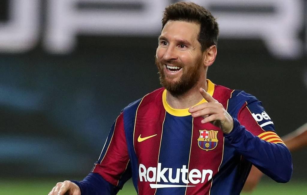 Lionel Messi sluit nieuw akkoord met FC Barcelona