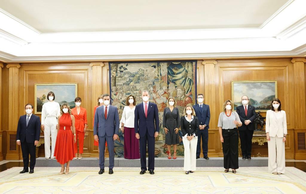 Spaanse coalitieregering wijzigt met ministers die gaan, komen en blijven