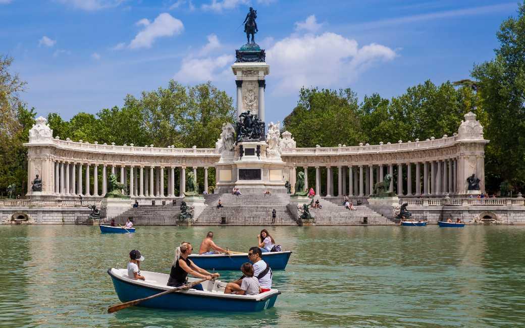Unesco plaatst het El Retiro park en Paseo del Prado in Madrid op Werelderfgoedlijst
