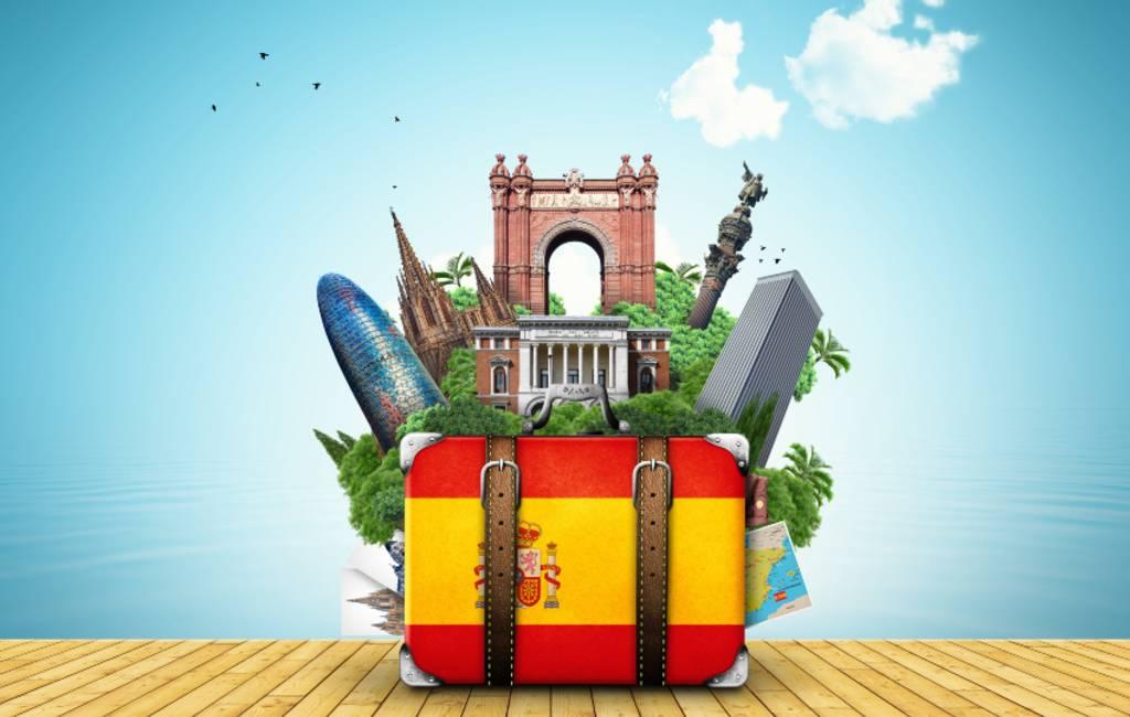 Internationale toerisme in Spanje met 69,7 procent gedaald tot en met mei (2021)