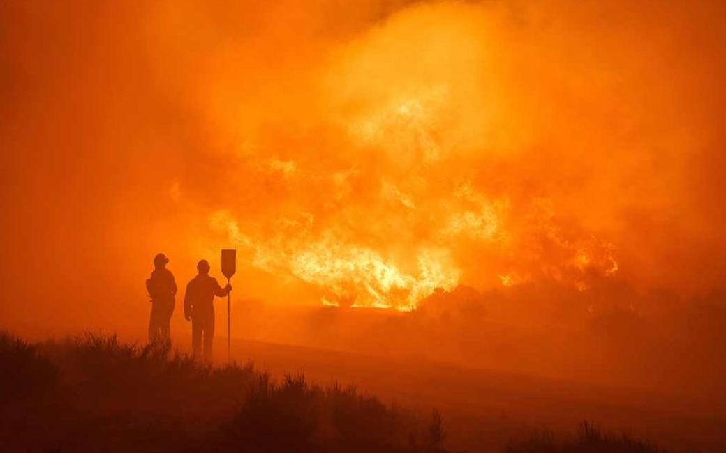 Natuur- en bosbrand in Ávila grootste tot nu toe in Spanje met 10.000 ha natuur verwoest