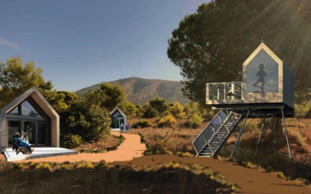 Plannen voor een nieuwe glamping in Alfaz del Pi aan de Costa Blanca