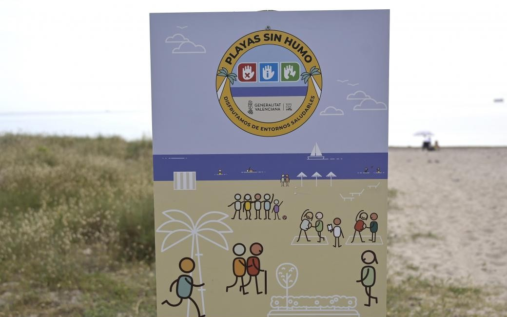 Aantal rookvrije stranden in provincie Alicante meer dan in provincies Valencia en Castellón samen