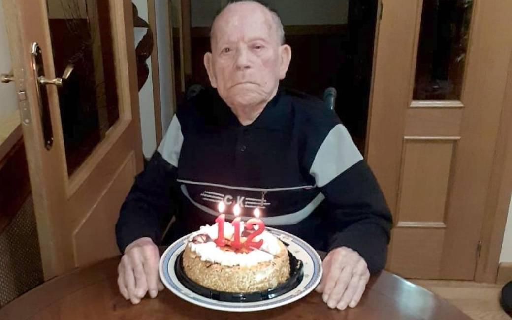 De langstlevende man ter wereld is een 112-jarige Spanjaard uit León