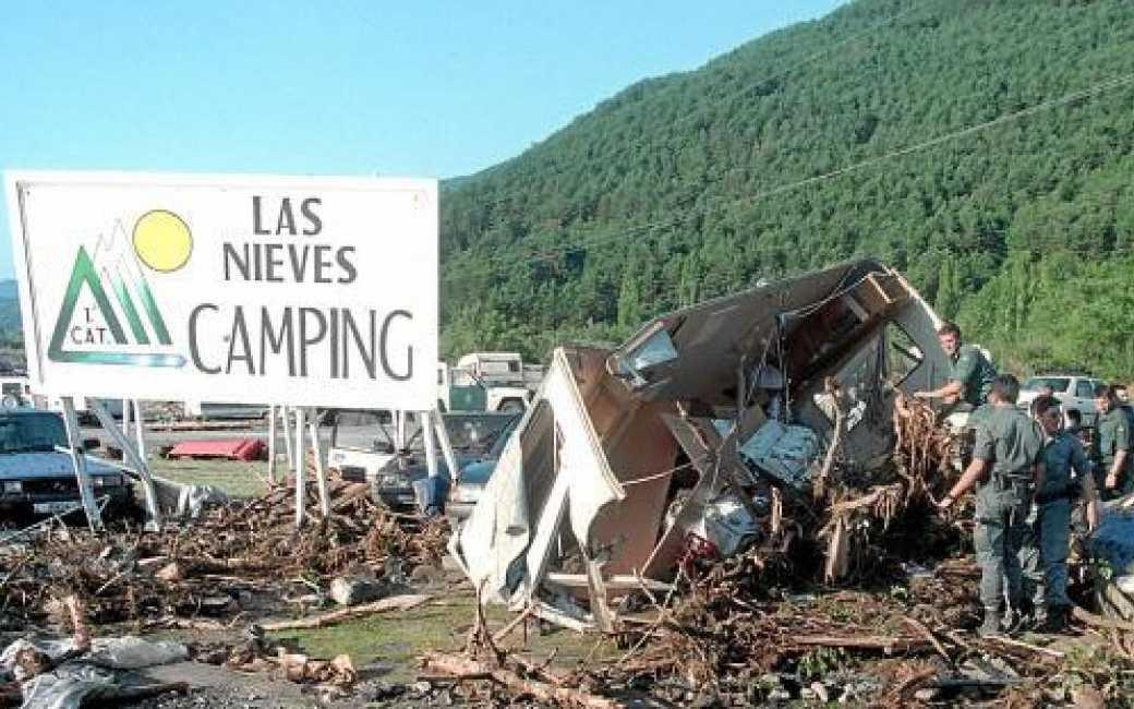De tragedie van de overstroming bij een camping in Huesca 25 jaar later