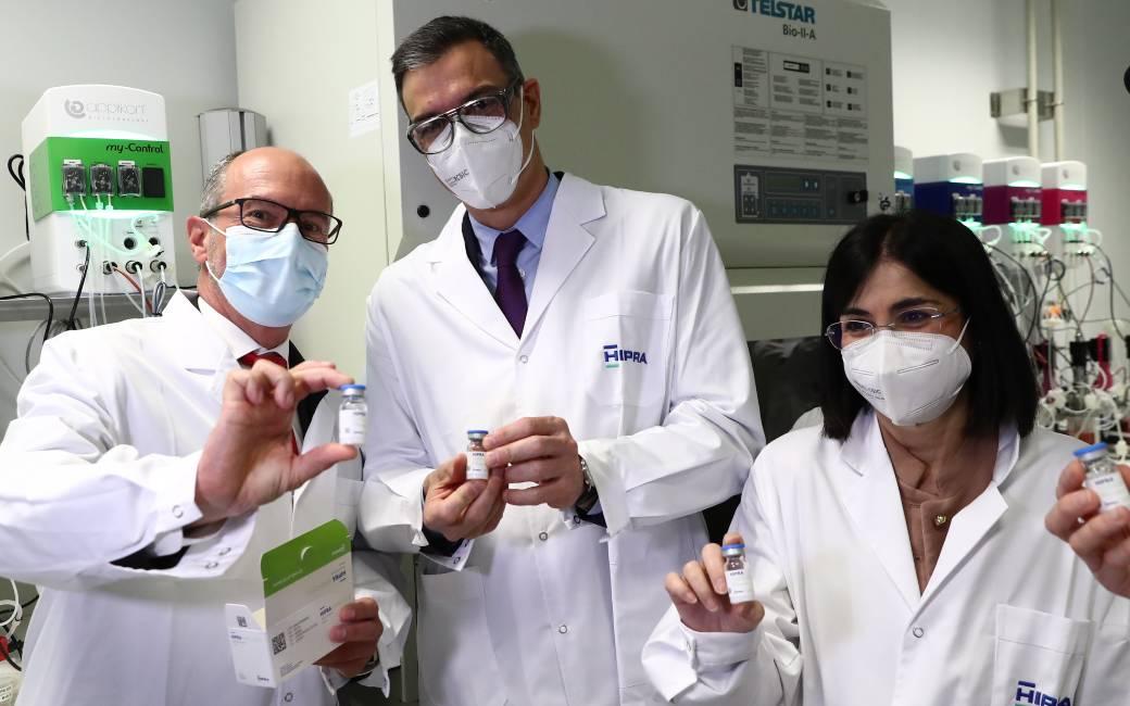 Toestemming voor eerste klinische proeven met het nieuwe Spaanse corona-vaccin