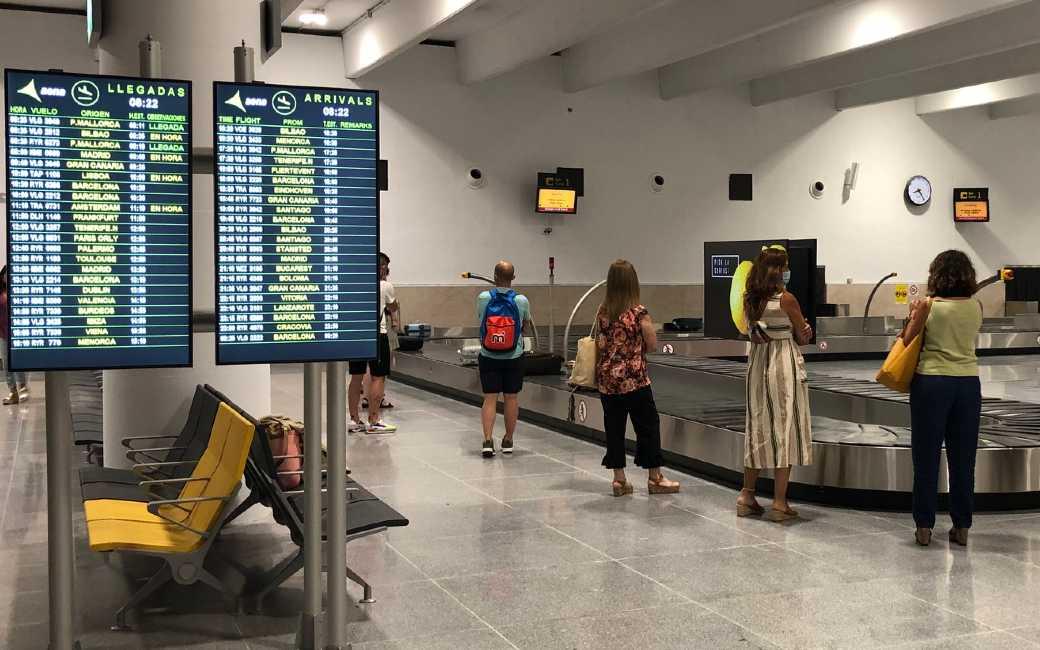 Aantal passagiers in juli met bijna 117 procent gestegen bij Spaanse luchthavens