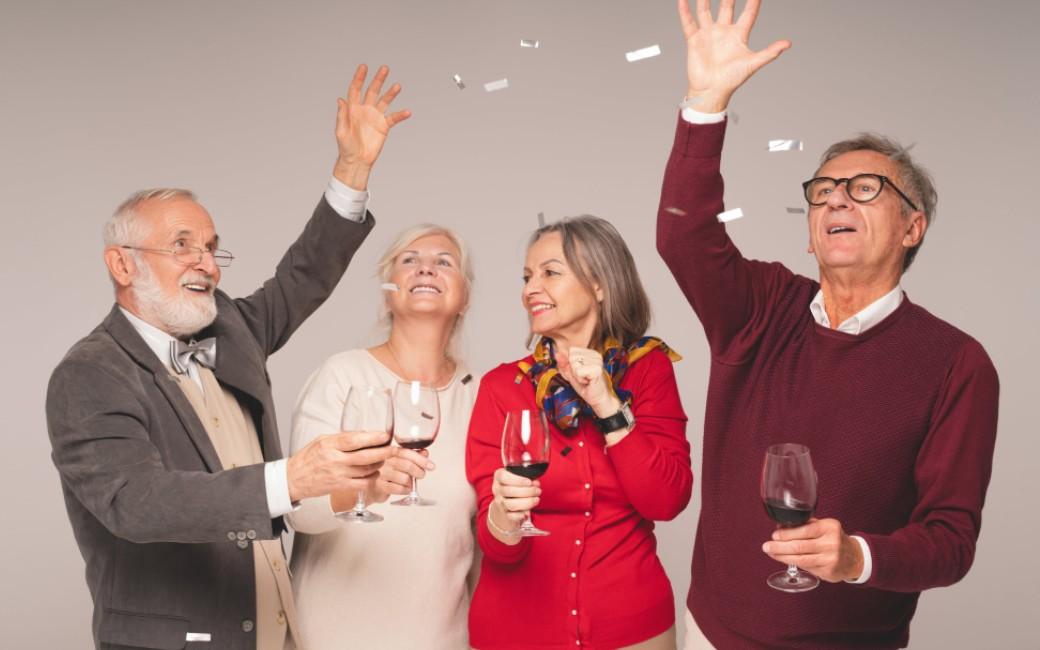 Nederlands onderzoek laat zien hoeveel wijn je moet drinken om 90 jaar te worden