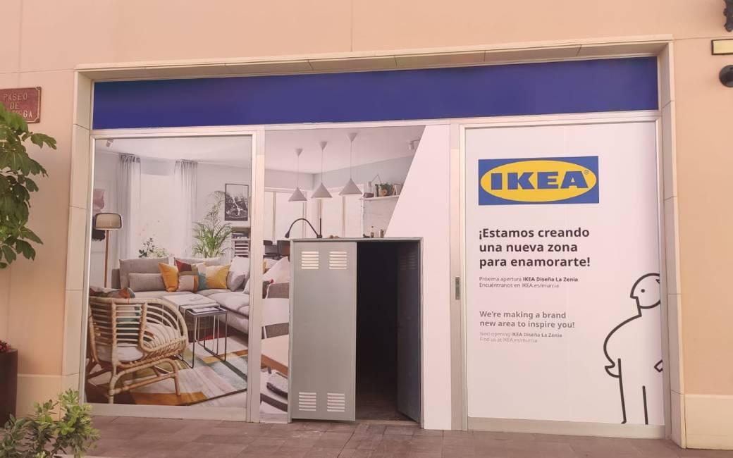 IKEA opent winkel in het Zenia Boulevard winkelcentrum in Orihuela