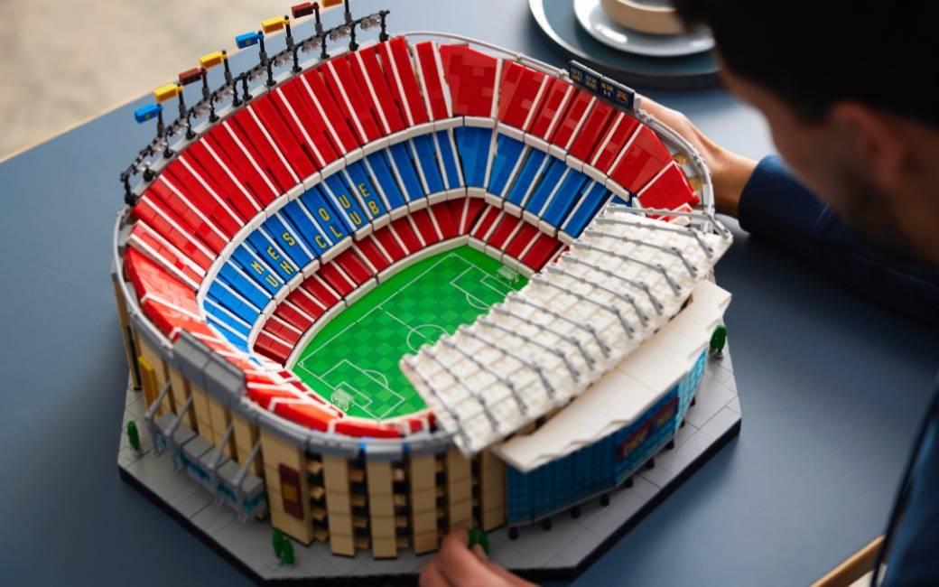 Nu te koop: Camp Nou voetbalstadion van FC Barcelona van LEGO