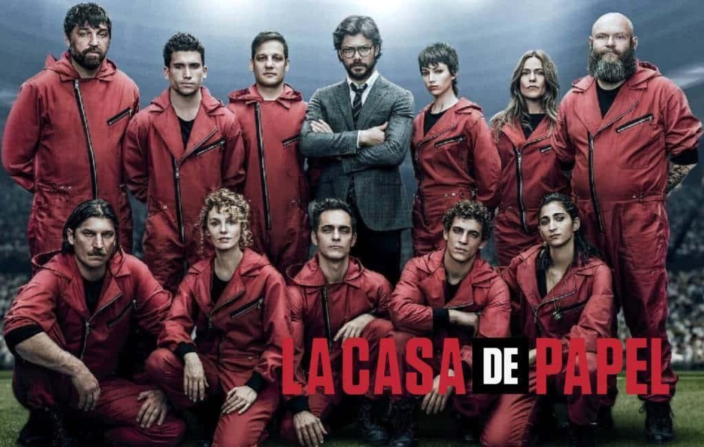Spaanse serie 'La Casa de Papel' bij 10 meest bekeken Netflix-series tot nu toe