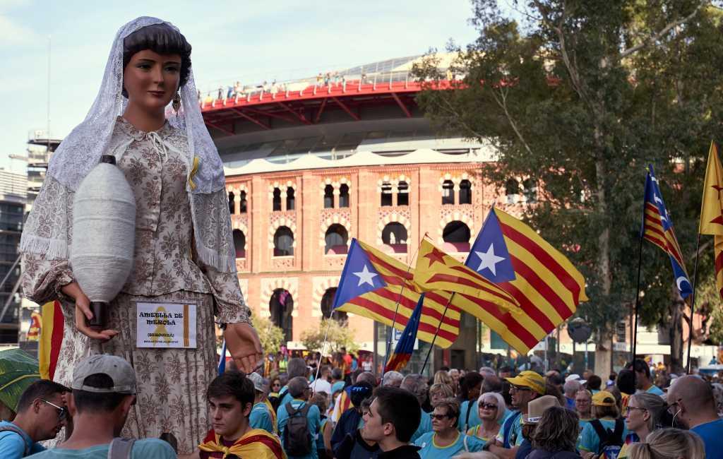 Grote activiteiten rond regionale Catalaanse feestdag La Diada