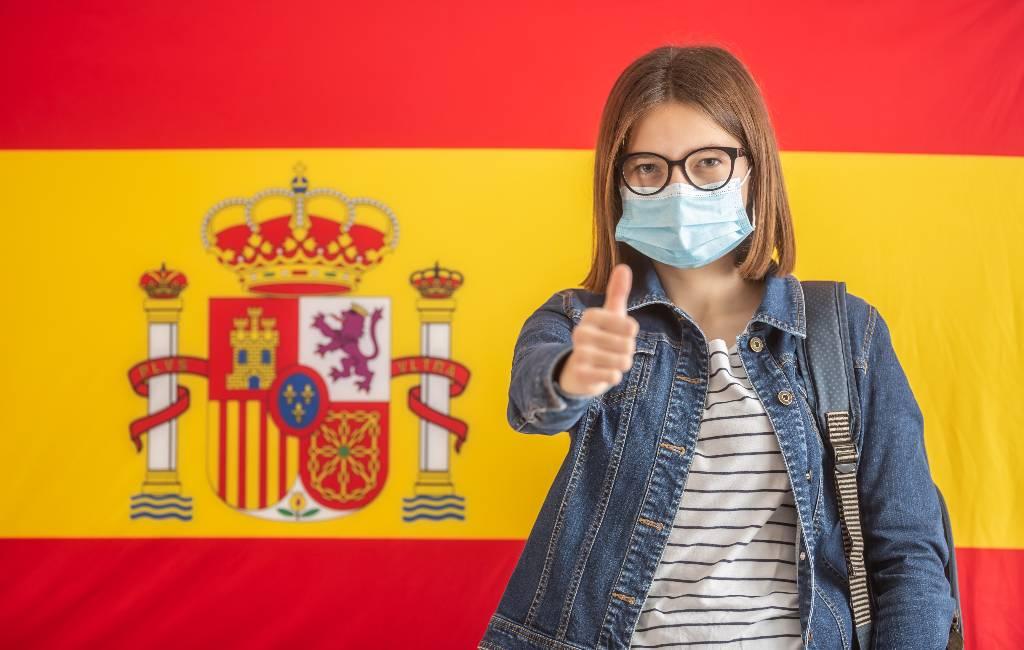 Hoe is het op dit moment in Spanje met mondkapjes, de 1,5 meter en coronapassen