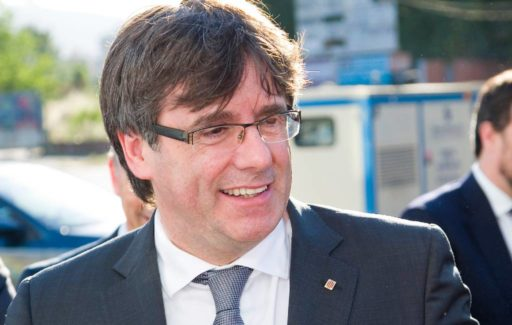 Carles Puigdemont aangehouden op vliegveld Italiaanse eiland Sardinië