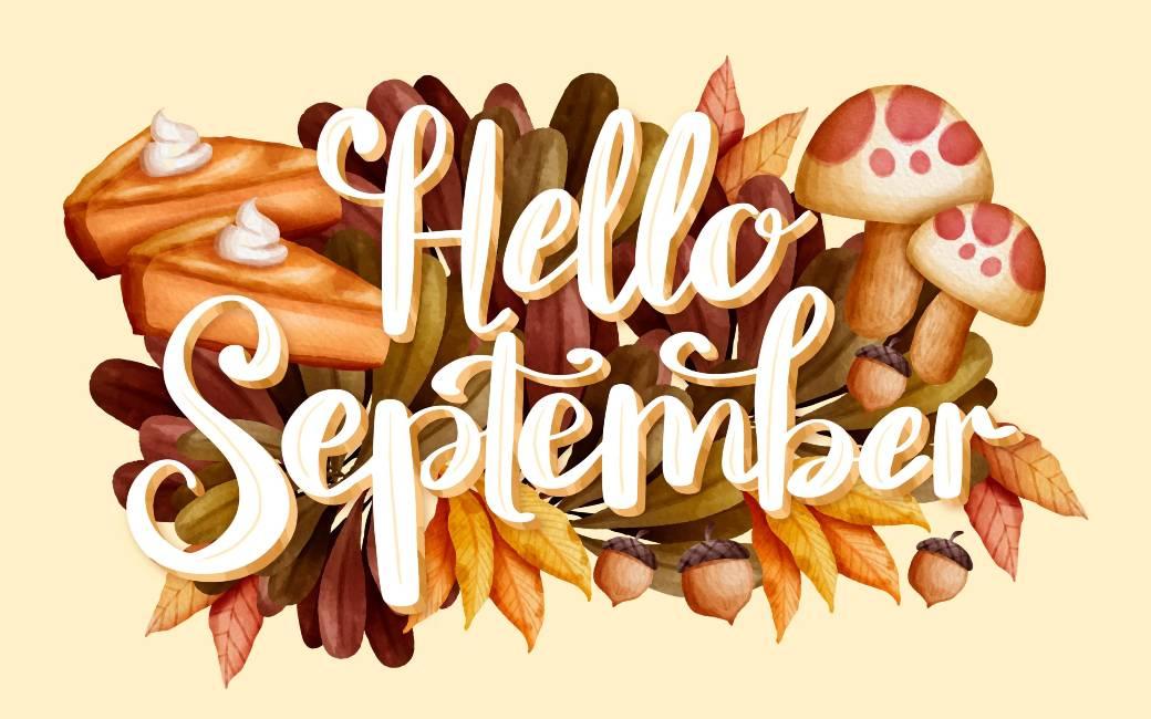10 uitdrukkingen voor een gelukkige maand september