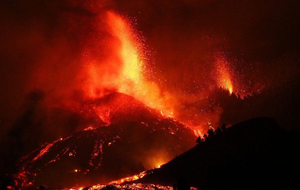 Hoeveel actieve vulkanen zijn er in Spanje en waar zijn deze te vinden?