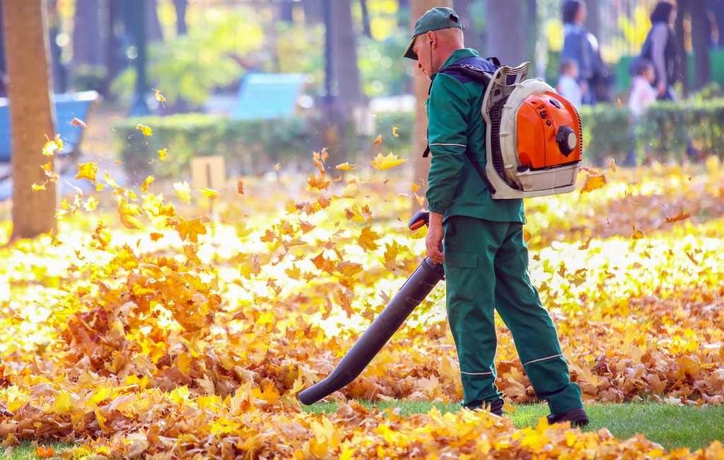 De in Spanje veel gebruikte en gehoorde bladblazers zijn schadelijk voor het milieu