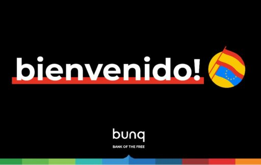 Nederlandse Bunq-bank heeft nu ook Spaanse IBAN rekeningnummers