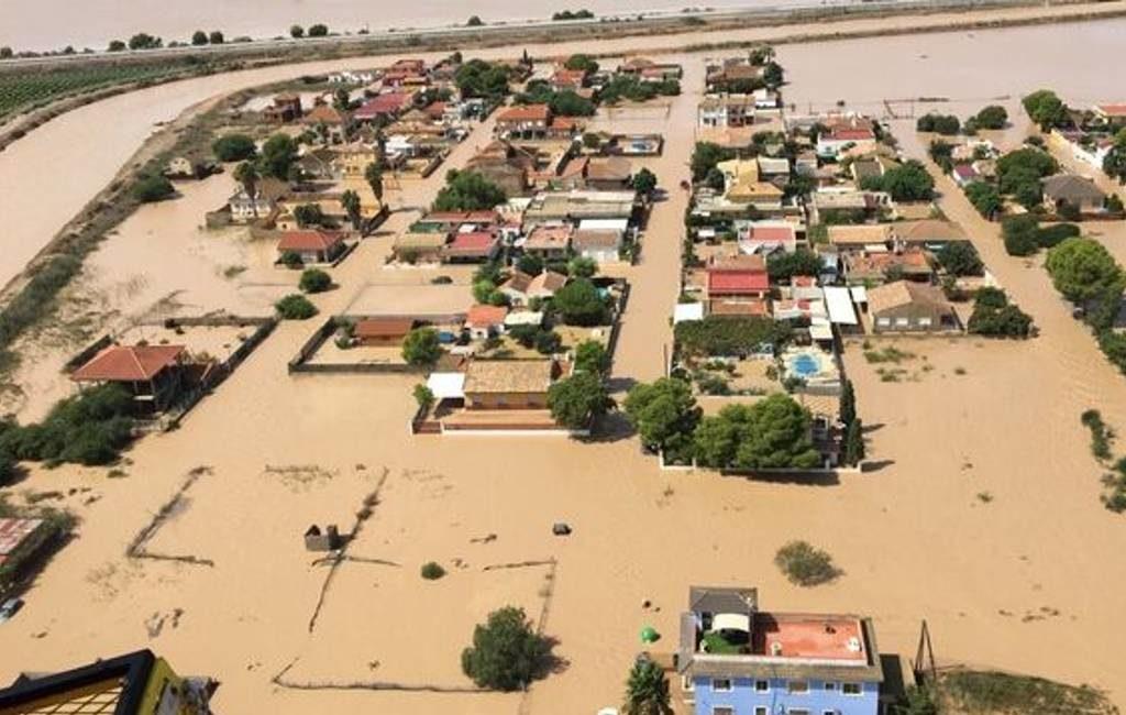 Spanje heeft 50.000 huizen gebouwd in overstromingsrisico gebieden