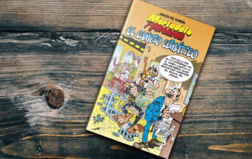 Spaanse stripalbum helden Paling & Co strijden tegen klimaatverandering