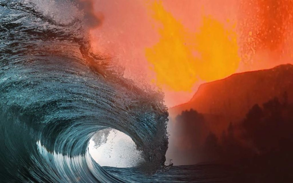 Is er kans op een tsunami bij La Palma vanwege de vulkaanuitbarsting?