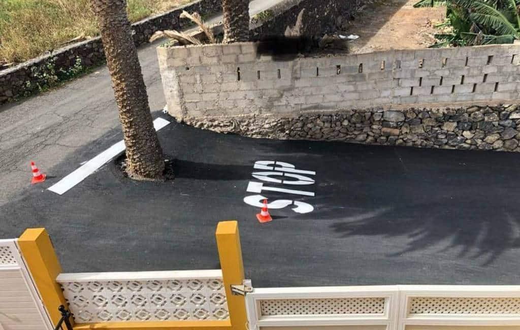 Het meest onzinnige stop-signaal is te vinden op Gran Canaria