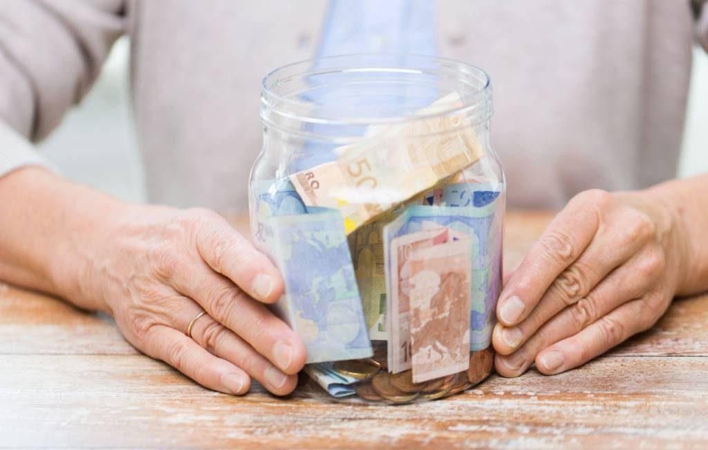 Het gemiddelde ouderdomspensioen in Spanje is in augustus 1.139 euro