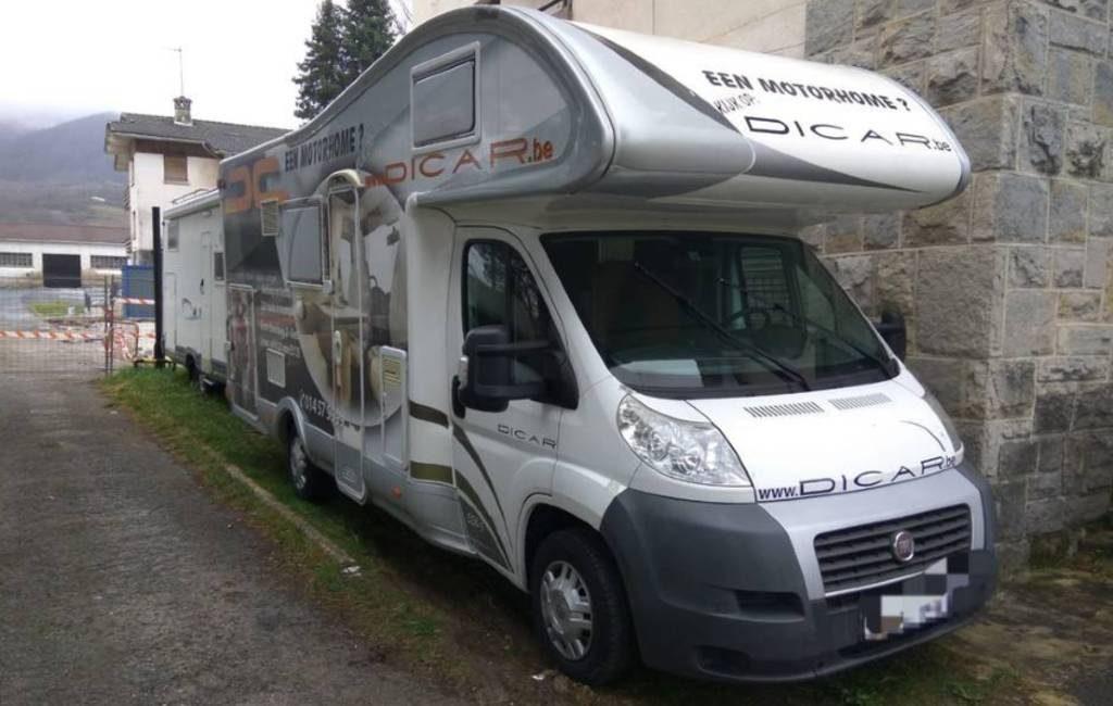 Politie Navarra haalt Nederlandse campers van de weg