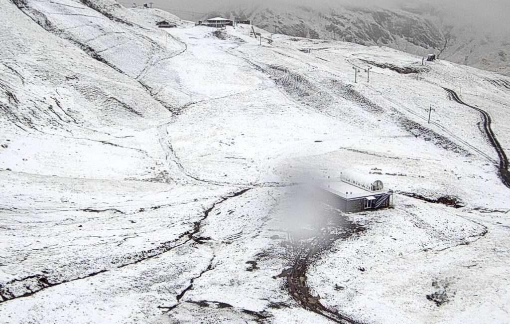 Eerste sneeuw van dit jaar gevallen in Spanje
