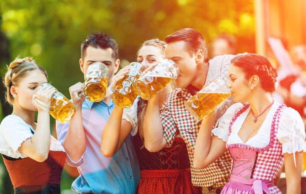 Waar kun je 'oktoberfest' vieren in Spanje